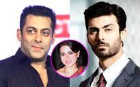 Shaina NC supports Salman Khan's statement against the ban on Pakistani artistes, but SLAMS Fawad Khan!