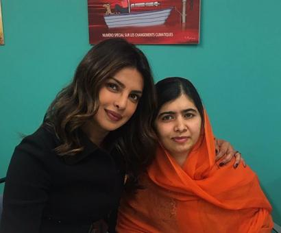 Malala you're an undeniable force to be reckoned with: Priyanka
