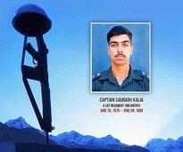 The Life And Times Of Capt. Saurabh Kalia - Revealed In A Conversation With His Family
