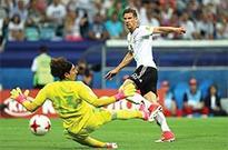 Goretzka propels Germany into final with rapid-fire brace