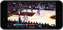 The NBA is dishing up a zoomed-in TV feed so mobile viewers can actually see the game