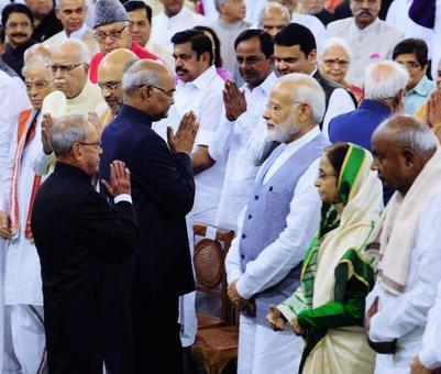 The only VVIP who arrived AFTER Ram Nath Kovind was sworn-in