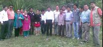 Panchayats and Christian Society visted Prayer Tower Site