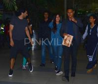 Katrina's Bodyguard Has her in Splits. Check Out The Pics!