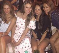 Elizabeth Hurley, Nandita Mahtani, Seema Khan come together for a fun evening