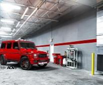 Red Mercedes G63 AMG Is a Tuning Shock [Photo Gallery]