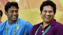 Sachin Tendulkar hails 'dear friend' Leander Paes for creating Davis Cup history