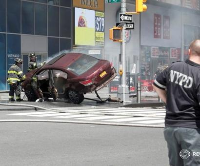 Horror@Times Square: 1 dead, 22 hurt as car mows down pedestrians