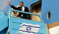 Obama departs Israel for Jordan in AF1