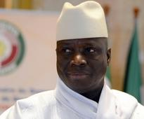 Gambia's Jammeh leaves country after trying to cling to power