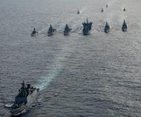 Indian Navy fleet sails out for South China Sea deployment