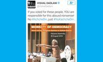 Vishal Dadlani knows nothing about Digambar saints: ...