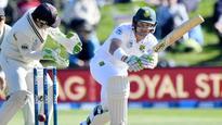NZvSA, 1st Test: Dean Elgar century lifts South Africa in Dunedin