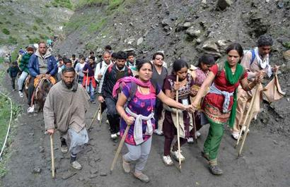 Last batch of 89 pilgrims leave for Amarnath