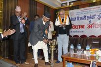 NC President Deuba accuses UML of doing divisive politics