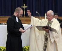 Marist Brother Poulin Makes Final Vows