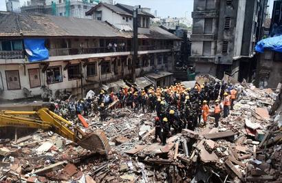 Mumbai building collapse: 20-day-old among 33 killed