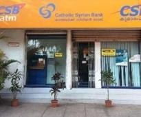 Catholic Syrian Bank expects to raise funds by December