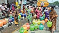 Quarrels, squabbles break out as people gather to collect water