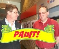 On Monday's Crosstalk: Painting!
