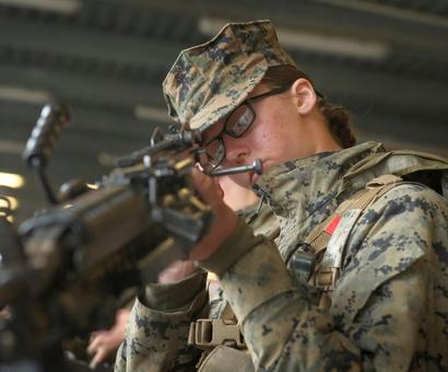 US military welcomes first women infantry Marines
