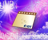 IDT Introduces New Sensor for Detecting UVB and Ambient Light in Mobile Applications