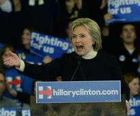 Democratic presidential candidate, former Secretary of State Hillary Clinton