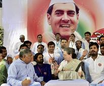 Congress opposes removal of Rajiv Gandhi's name from 'Sadbhavna Diwas'