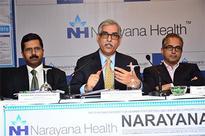 Narayana Hrudayalaya lists on the stock exchanges