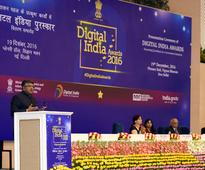 Union Minister Ravi Shankar Prasad Presents Digital India Awards 2016