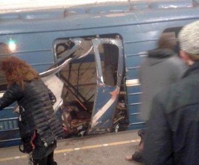 Explosion on St Petersburg metro kills at least 10