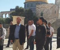 Right-wing activist Glick ascends Temple Mount for last time before entering Knesset
