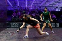 Nour El Sherbini passes Omneya Abdel Kawy exam at PSA World Series Finals in Dubai