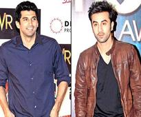 When Ranbir worked on the sets of Rishi's film