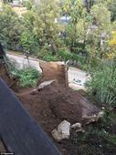 Laurel Canyon Boulevard house collapses due to heavy rains
