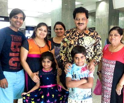Spotted: Udit Narayan in Kochi