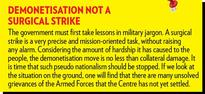Is the current political rhetoric over the Armed Forces justified?