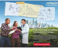 Hitachi launches new 'Global Brand Campaign'