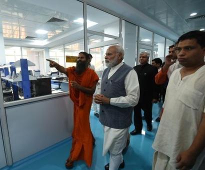 Ramdev calls PM 'Rashtra Rishi'