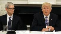 US President Trump to meet Apple CEO Cook to talk trade at White House
