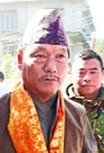 Gurung bristles with poll confidence