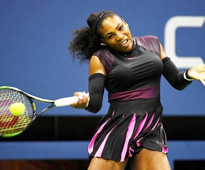 US Open PHOTOS: Williams sister act through to second round