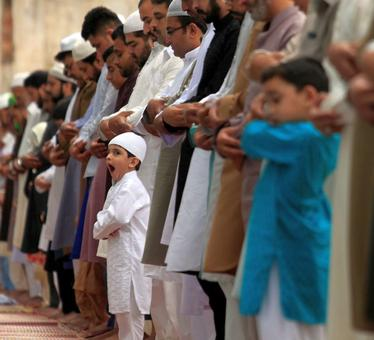 Images of joy: Eid across the world