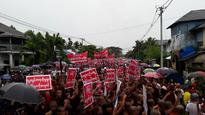 Thousands Protest in Arakan State Against New Label for Rohingya