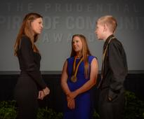 Two North Dakota Youth Honored for Volunteerism at National Award Ceremony in Washington, D.C.