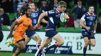 Super Rugby: Reece Hodge, Adam Thomson star in crucial Rebels' win over Cheetahs