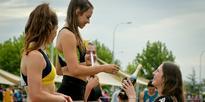 Athletics: Schoolgirl eclipses McCartney's record