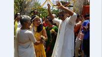 Watch: Milind Soman-Ankita Konwar dance their heart out at mehndi ceremony