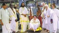 Four French citizens convert to Hinduism to enter Guruvayur temple