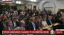 Sean Spicer to White House Reporters: Our Intention Is Never To Lie To You